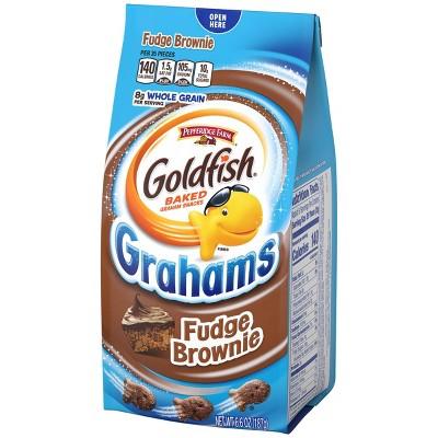 Pepperidge Farm Goldfish Fudge Brownie Grahams Snacks - 6.6oz