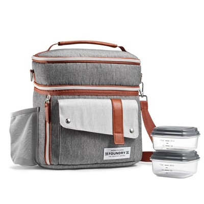 Fit & Fresh Foundry Wickenden Lunch Kit Set - Gray