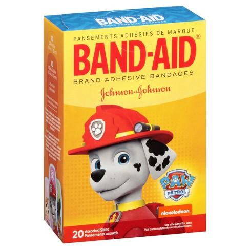 band aid paw patrol bandages 20ct target