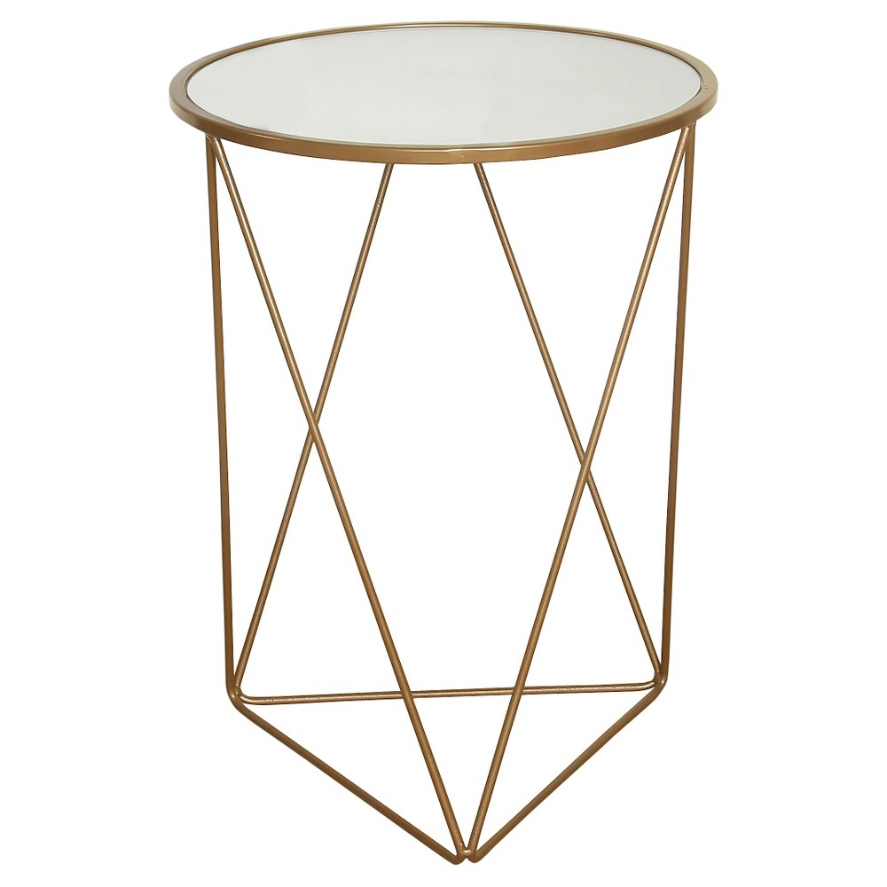 Accent Table Gold - HomePop was $89.99 now $67.49 (25.0% off)