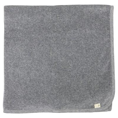 Burt's Bees Baby® Organic Velour Stroller Blanket - Heather Gray