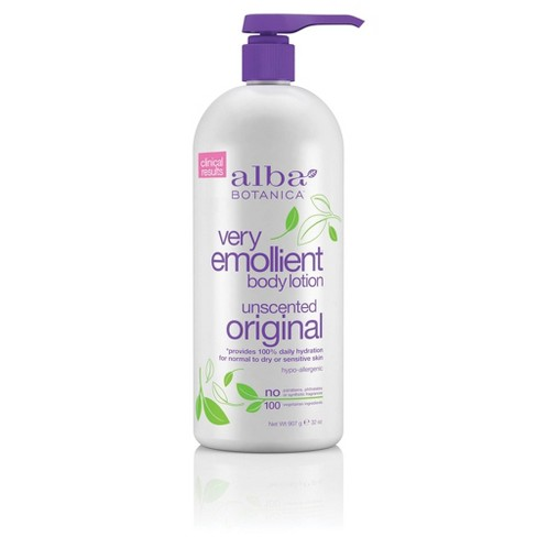 Unscented Alba Very Emollient Body Lotion - Unscented Original- 32oz - image 1 of 3