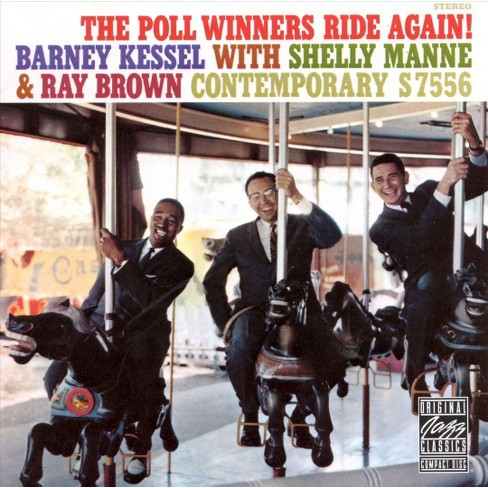 Brown, Ray (Bass) - Poll Winners Ride Again (CD) - image 1 of 2