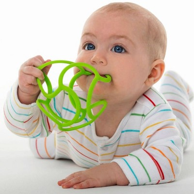 OGO Sport Bolli Balls Flexible Teether Ball - Color will vary - Set of 3