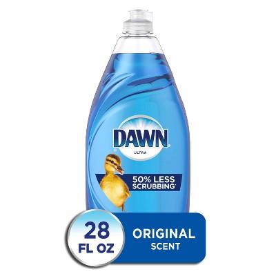 Dawn Ultra Original Scent Dishwashing Liquid Dish Soap