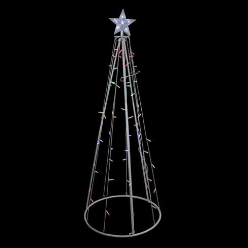 Led Lighted Show Cone Christmas Tree