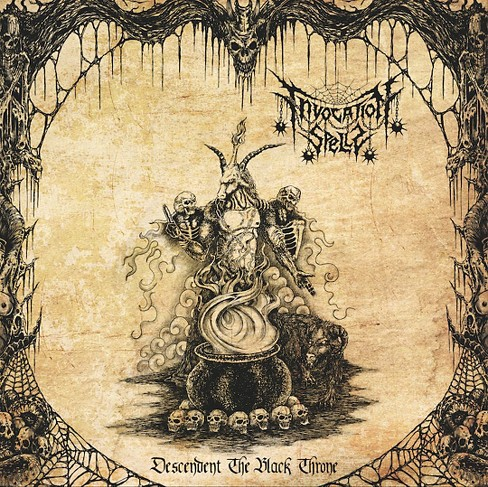 Invocation spells - Descendent the black throne (Vinyl) - image 1 of 1