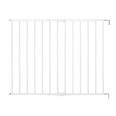 "Toddleroo by North States Essential Stairway And Walkway Baby Gate - White -  24.5""- 40.5"" Wide"