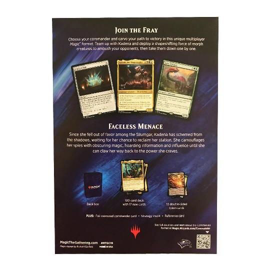 Magic: The Gathering Commander Faceless Menace Deck, Kids Unisex image number null