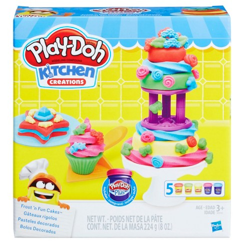 Play-Doh Kitchen Creations Frost 'n Fun Cakes - image 1 of 2