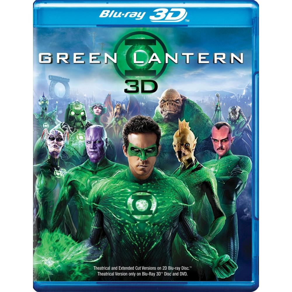 Green Lantern 3d (Bd/Dvd Combo) (Blu-ray)