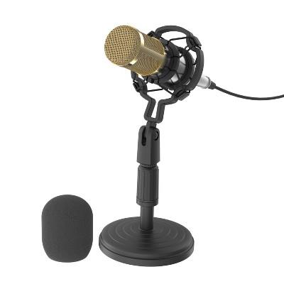 Tzumi ONAIR: Reverb Pro Condenser Microphone - Black