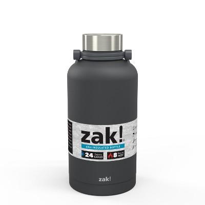 Zak Designs! 64oz Double Wall Stainless Steel Growler - Dark Gray