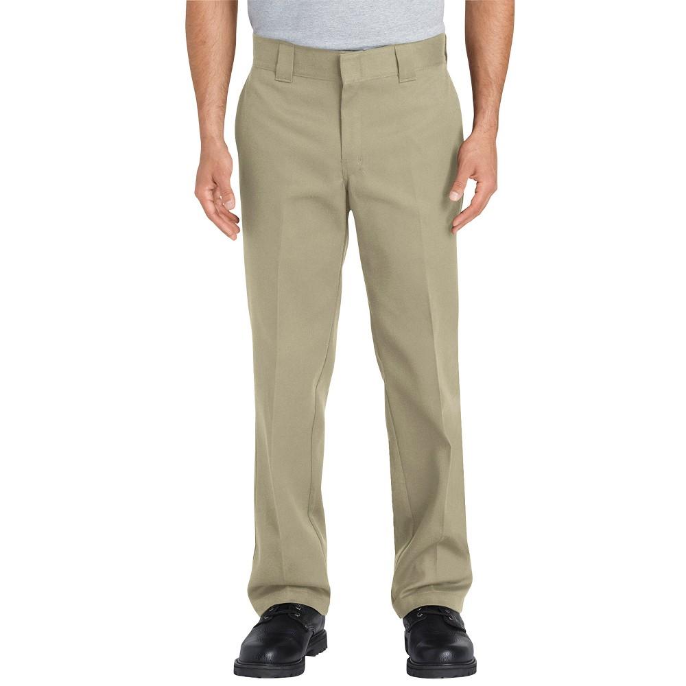 Dickies Men's Flex Slim Straight Fit Pants - Desert Tan 36x32