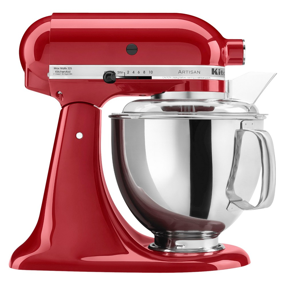 KitchenAid Artisan Series 5 Quart Tilt-Head Stand Mixer- Ksm150, Empire Red 10154630