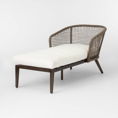 Magnificent Risley Oversized Rope Patio Chaise Lounge Linen Project 62 Cjindustries Chair Design For Home Cjindustriesco