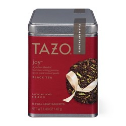 Tazo Joy Black Tea Sachets - 15 ct