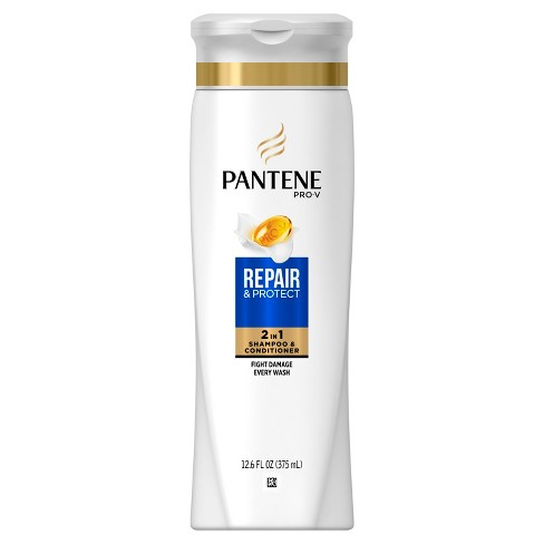 pantene pro v repair and protect 2 in 1 shampoo and conditioner