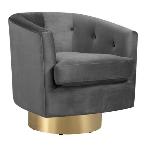 Wondrous Carolina Swivel Accent Chair Slate Picket House Furnishings Bralicious Painted Fabric Chair Ideas Braliciousco