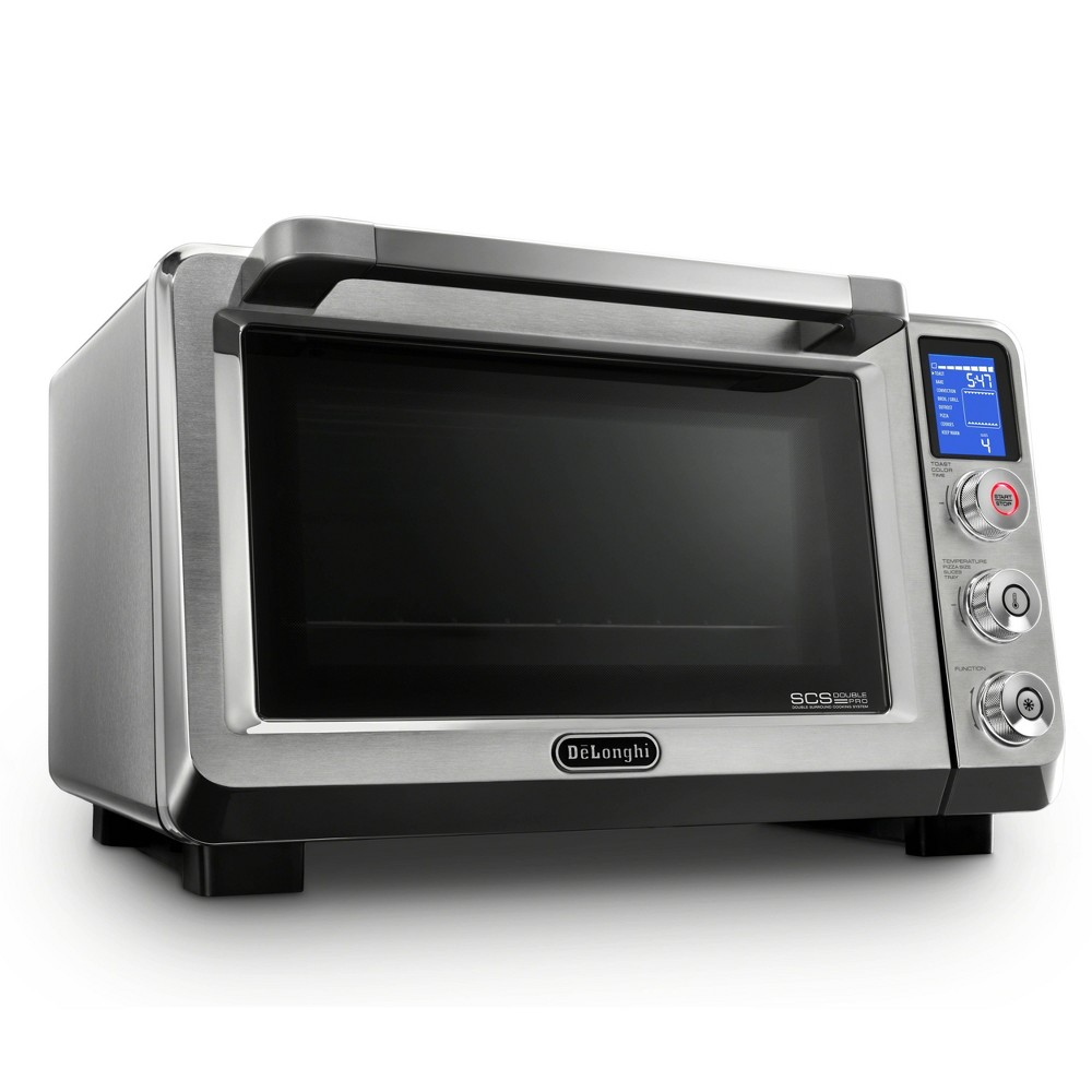 Image of DeLonghi Livenza 0.8 cu ft. Digital Convection Oven - Stainless Steel