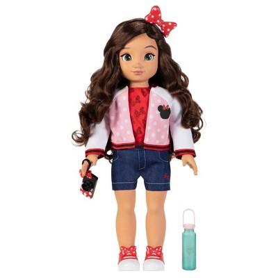 "Disney ILY 4ever 18"" Brunette Minnie Inspired Fashion Doll"