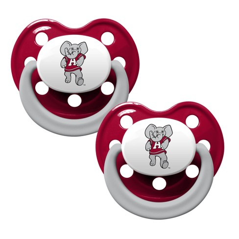 NCAA Baby Fanatic 2pk Pacifier Set with handle - image 1 of 1