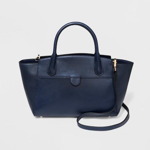 Winged Satchel Handbag - A New Day™ - image 1 of 3