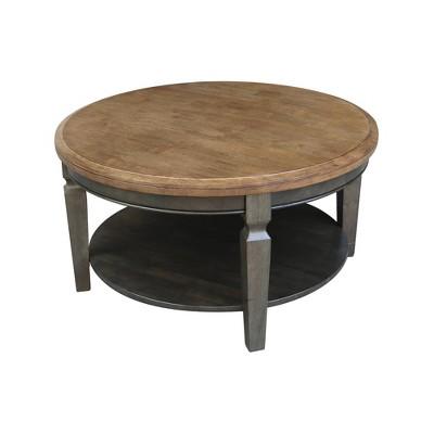 Vista Round Coffee Table - International Concepts