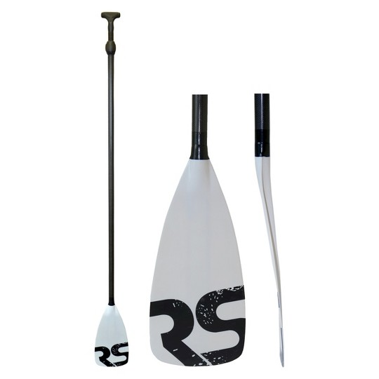 RAVE Sports Tempo Carbon Fiber/Fiberglass Stand Up Paddle Board Paddle - Red image number null