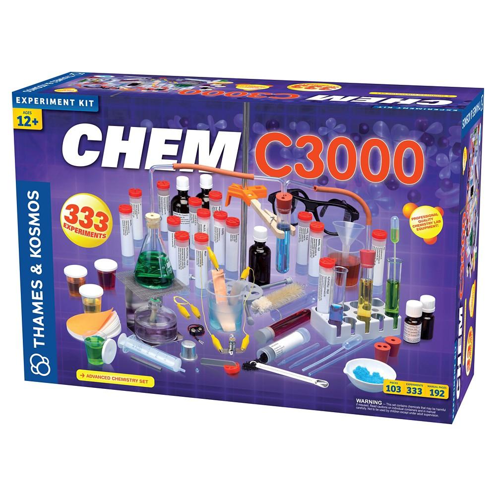 Thames & Kosmos Science Experiment Kit Chem C3000