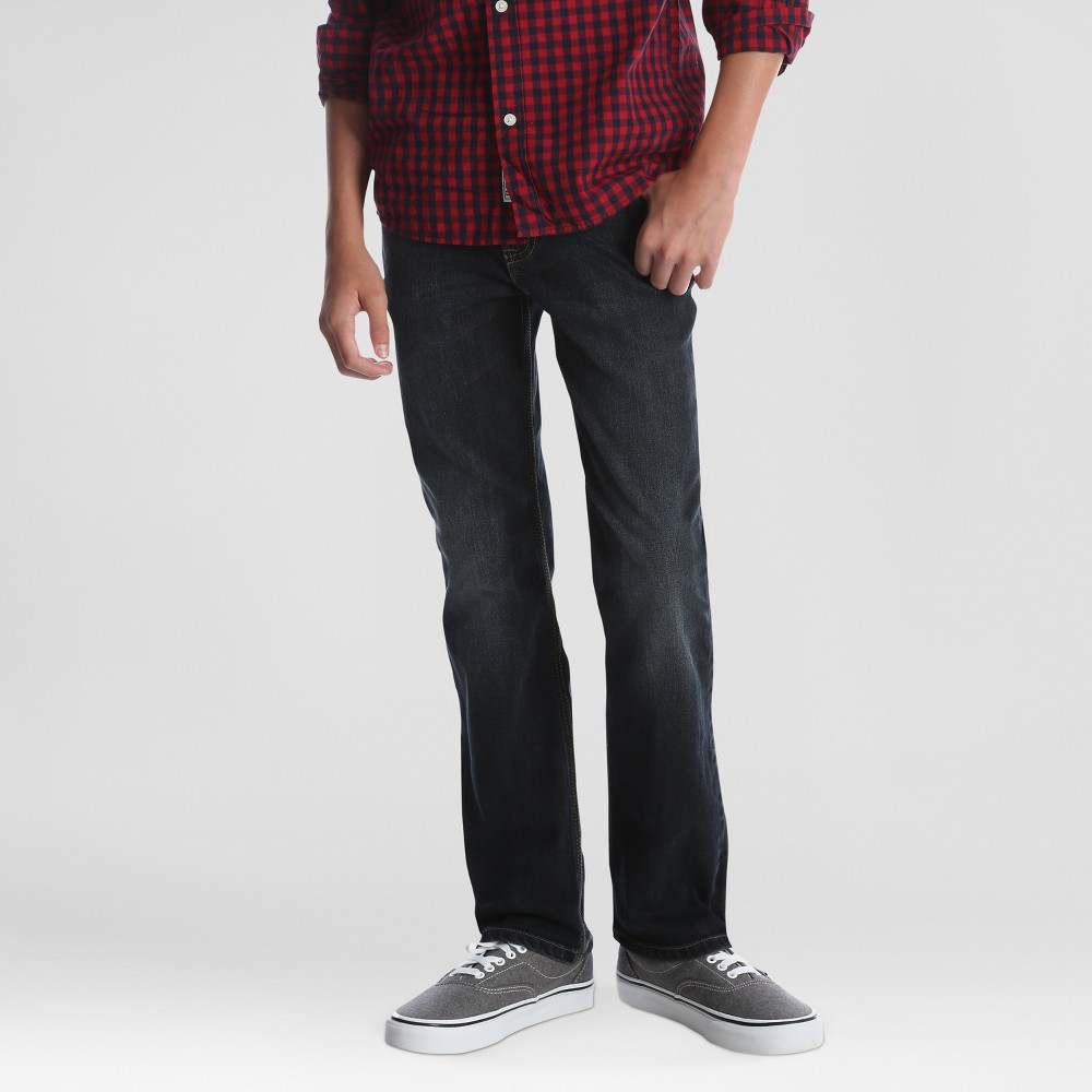 Wrangler Boys' 5pk Slim Straight Fit Jeans - Dark Blue 6