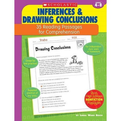 35 Reading Passages for Comprehension: Inferences & Drawing Conclusions - by  Linda Ward Beech & Linda Beech (Paperback)