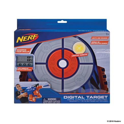 nerf digital light up target target