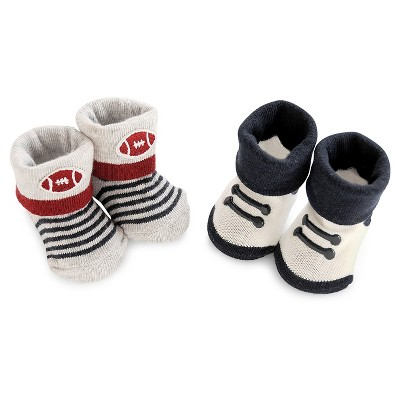 Just One You™ Made by Carter's® Baby Boys' Keepsake Bootie Set - Blue/Gray