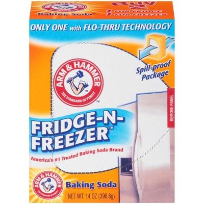 Baking Soda: Arm & Hammer Fridge-N-Freezer