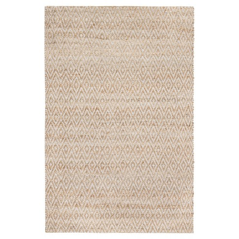 Light Gray Geometric Woven Area Rug - (5' x 8') - Anji Mountain - image 1 of 10