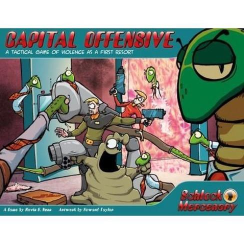 Schlock Mercenary - Capital Offensive Board Game - image 1 of 1