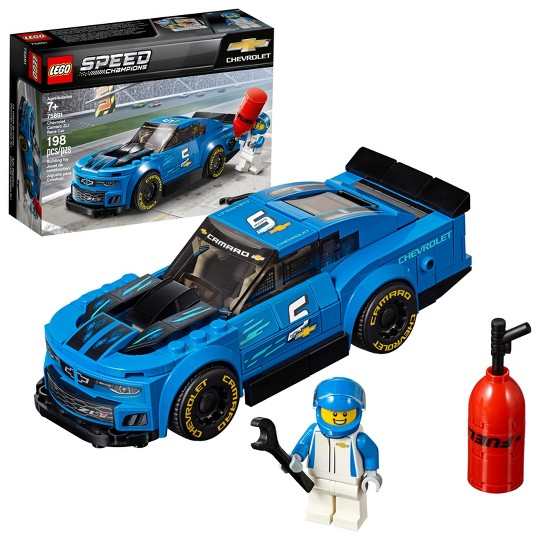 LEGO Speed Champions Chevrolet Camaro ZL1 Race Car 75891 image number null