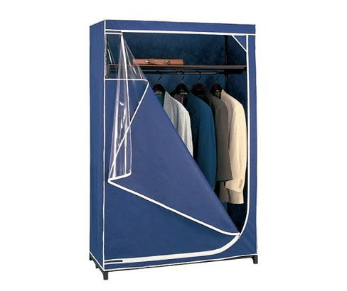 Neu Home Deluxe Portable Wardrobe Storage - Blue - image 1 of 1