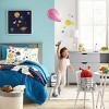 Large Round Fabric Toy Storage Bin Gray & White - Pillowfort™ - image 4 of 4