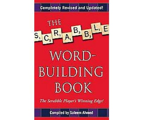 Scrabble Word-Building Book (Reissue) (Paperback) - image 1 of 1