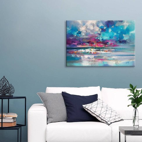 Atlantic Magenta by Scott Naismith Canvas Print 18 x 26 - iCanvas - image 1 of 2