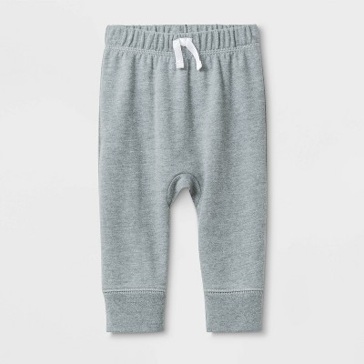 Baby Harem Jogger Pants - Cat & Jack™ Gray 3-6M