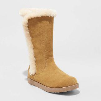 Women's Daniela Suede Tall Boots - Universal Thread™ Natural 6