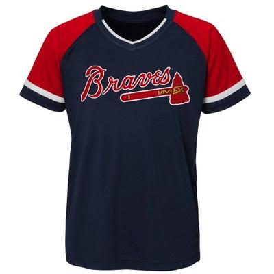 MLB Atlanta Braves Boys' Pullover Jersey
