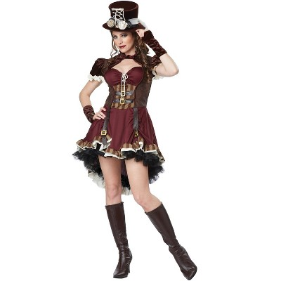 California Costumes Steampunk Woman Adult Costume