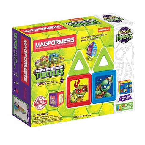 Magformers TMNT 18 PC Set - image 1 of 6