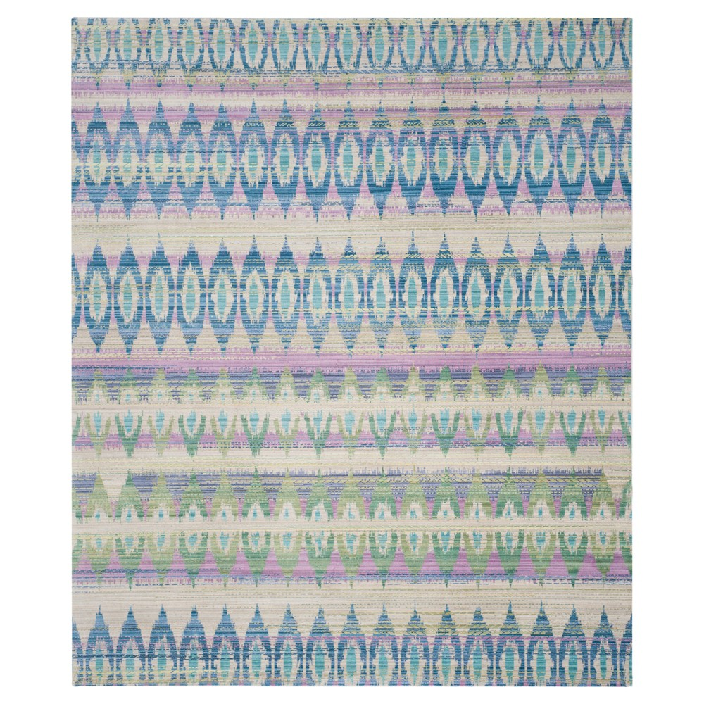 Sophia Area Rug - Purple / Multi (8' X 10') - Safavieh