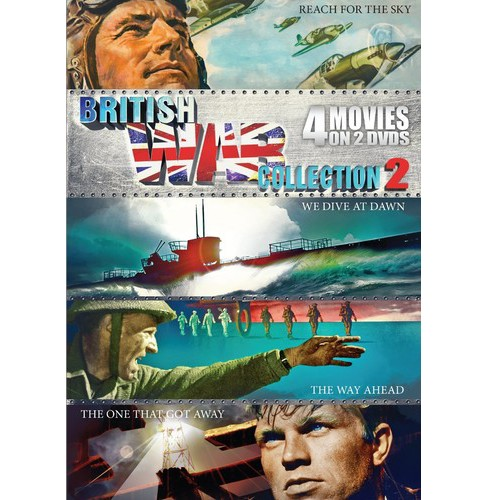 British War Collection Vol 2 (DVD) - image 1 of 1