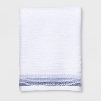 Strie Stripe Bath Towel White - Project 62™